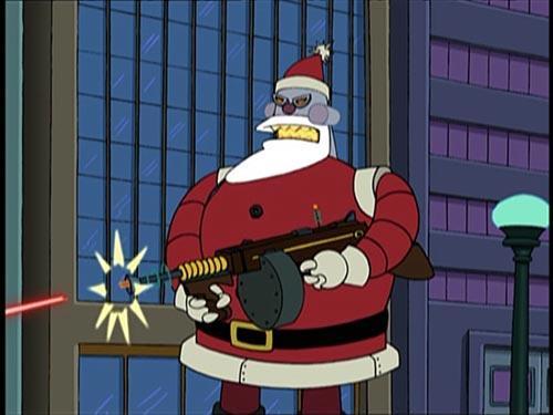 Futurama's Santabot
