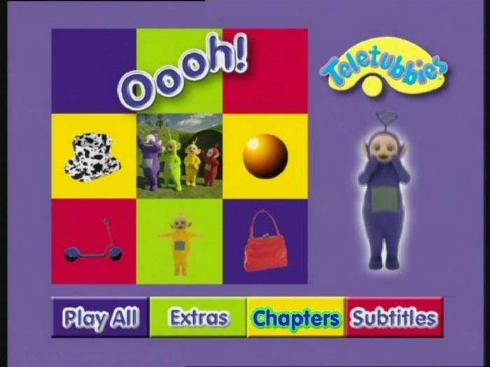 teletubbies menu
